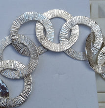 Load image into Gallery viewer, Silver Loops Bracelet
