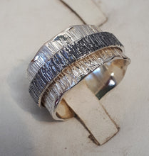 Load image into Gallery viewer, Silver Spinner Ring