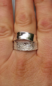 Silver Statement Ring