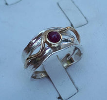 Load image into Gallery viewer, Opal Silver Gold Ring