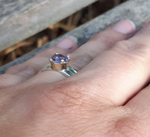 Load image into Gallery viewer, Silver Gold Promise Ring