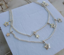 Load image into Gallery viewer, Silver Star Necklace