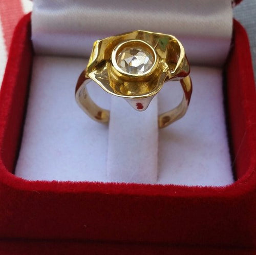 gold promise ring