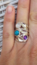 Load image into Gallery viewer, Turquoise Silver Ring