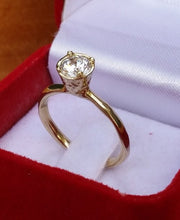 Load image into Gallery viewer, Gold Engagement Ring
