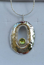 Load image into Gallery viewer, mix metal pendant
