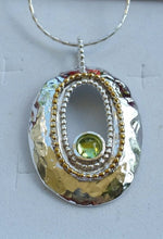 Load image into Gallery viewer, silver and gold pendant