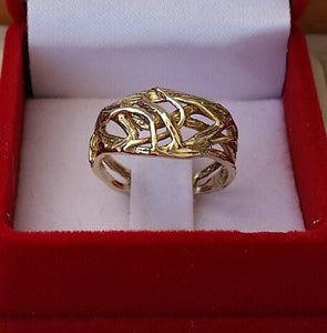 Friendship Gold Ring