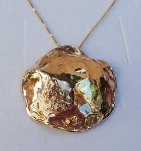Gold Large Pendant