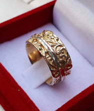 Load image into Gallery viewer, Gold Spinner Ring Mix Metal