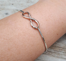 Load image into Gallery viewer, Infinity Bracelet Cuff