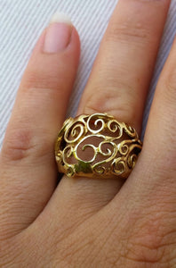 Gold Friendship Ring