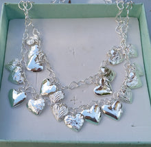 Load image into Gallery viewer, silver stacked necklace