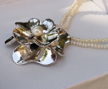 Load image into Gallery viewer, Pearl Stackable Necklace
