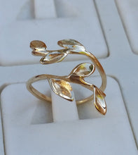 Load image into Gallery viewer, Adjustable Gold Ring