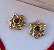 Load image into Gallery viewer, star of david stud earrings