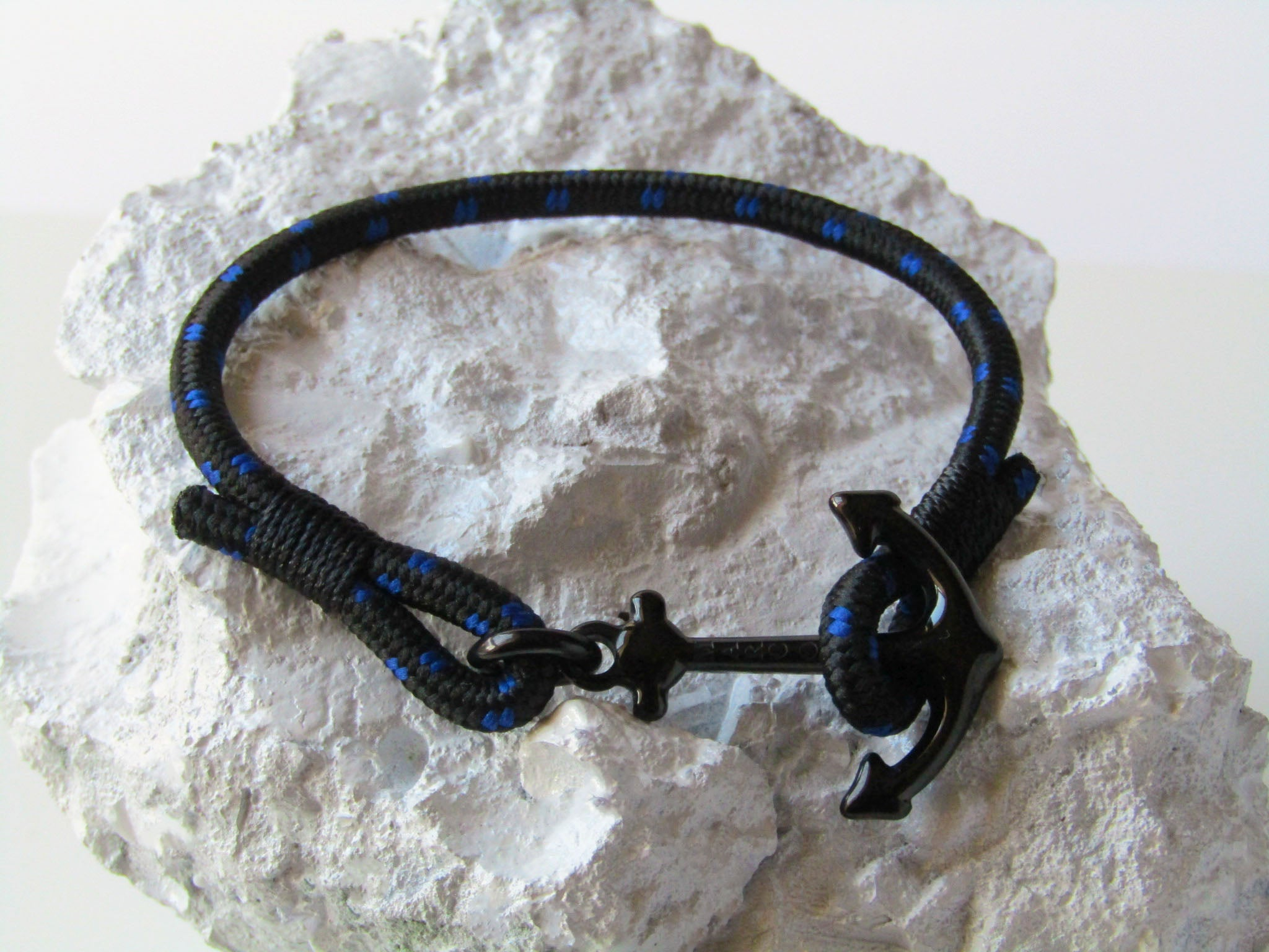 Arctic Black Blue - MarcOcean  - jewellery  - necklace  - anchor