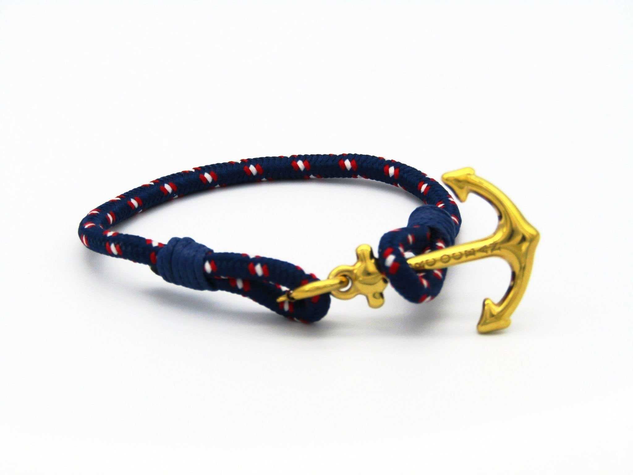Arctic Gold Blue - MarcOcean  - jewellery  - necklace  - anchor