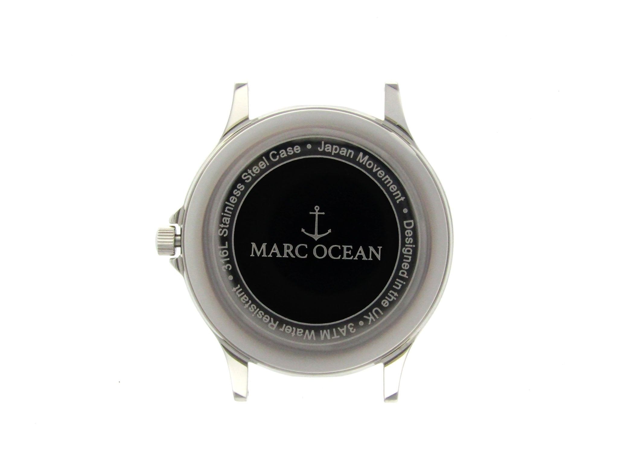 Marina Classic Black - MarcOcean  - jewellery  - necklace  - anchor