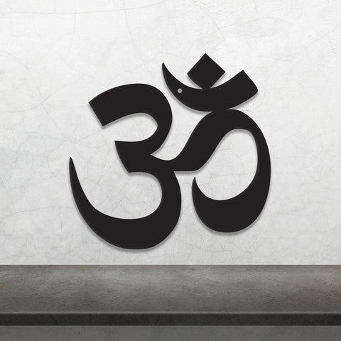 Image of Om Symbol - Metal Wall Art/Decor
