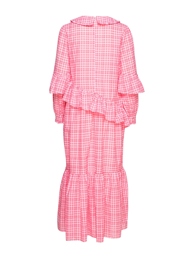 Teagan Dress Neon Pink
