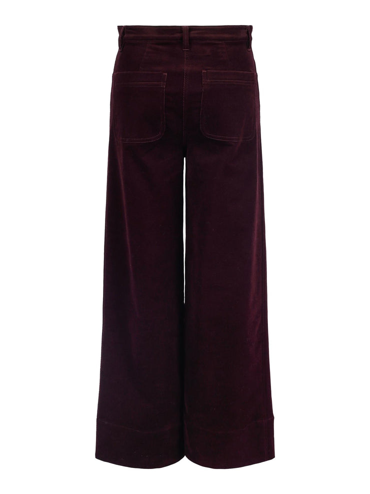 Nancy Corduroy Plum