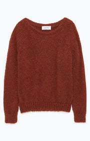 MANI256 Sweater Rust