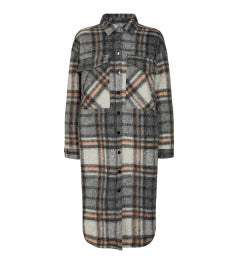 Kelly Long Jacket Checked