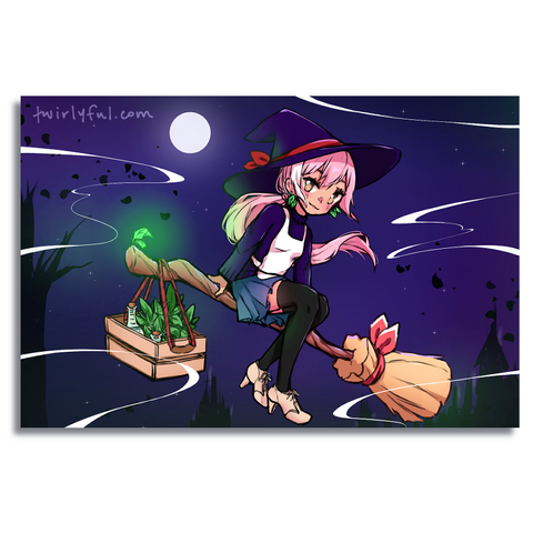 Twirly Witch Print 2019