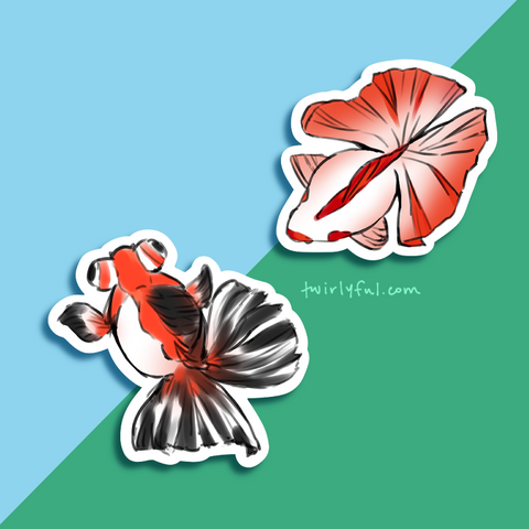 butterfly goldfishies