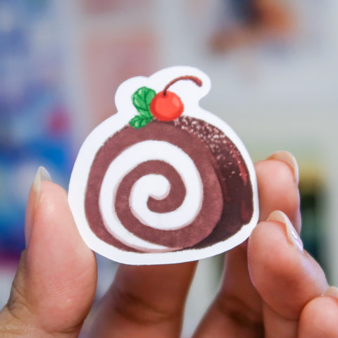Chocolate Cakeroll Sticker