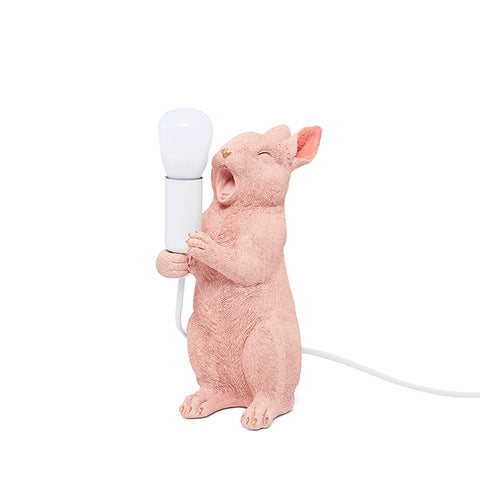 Verdict Yawning rabbit bedside lamp