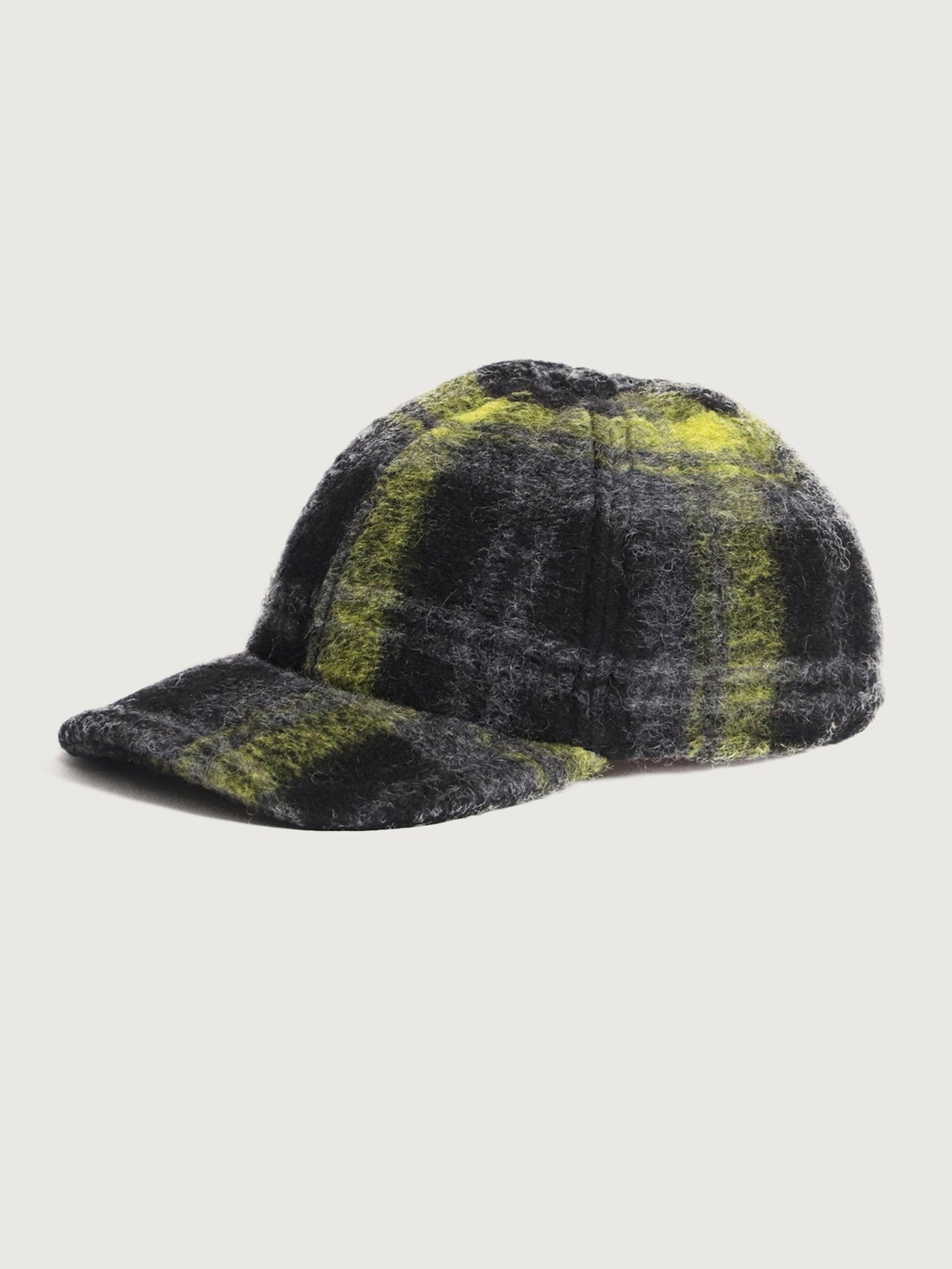 Reality Studio Michel Cap Lime Checks