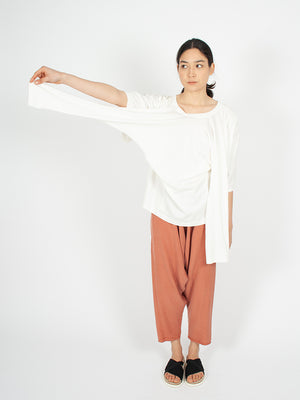 Reality Studio 4-Arm pullover Off White