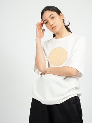 Reality Studio Circle T shirt circle Off white