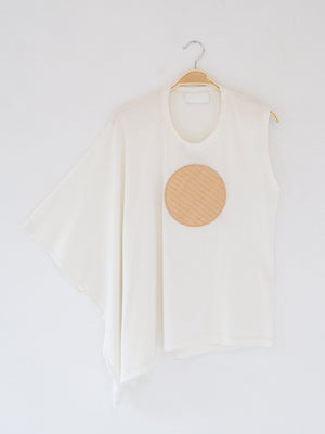 Reality Studio Circle Top Off-White Circle
