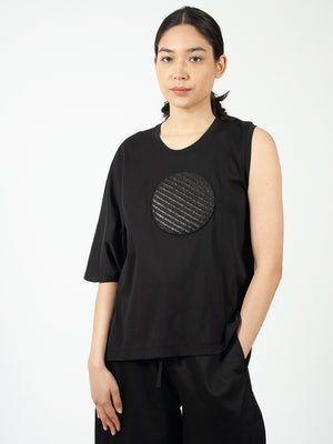 Reality Studio Circle Top w Circle black