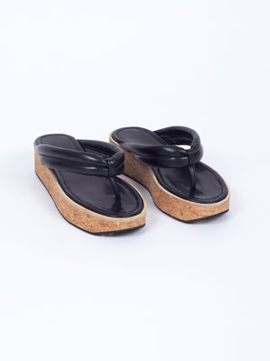 Reality Studio Jun Thong Sandals black