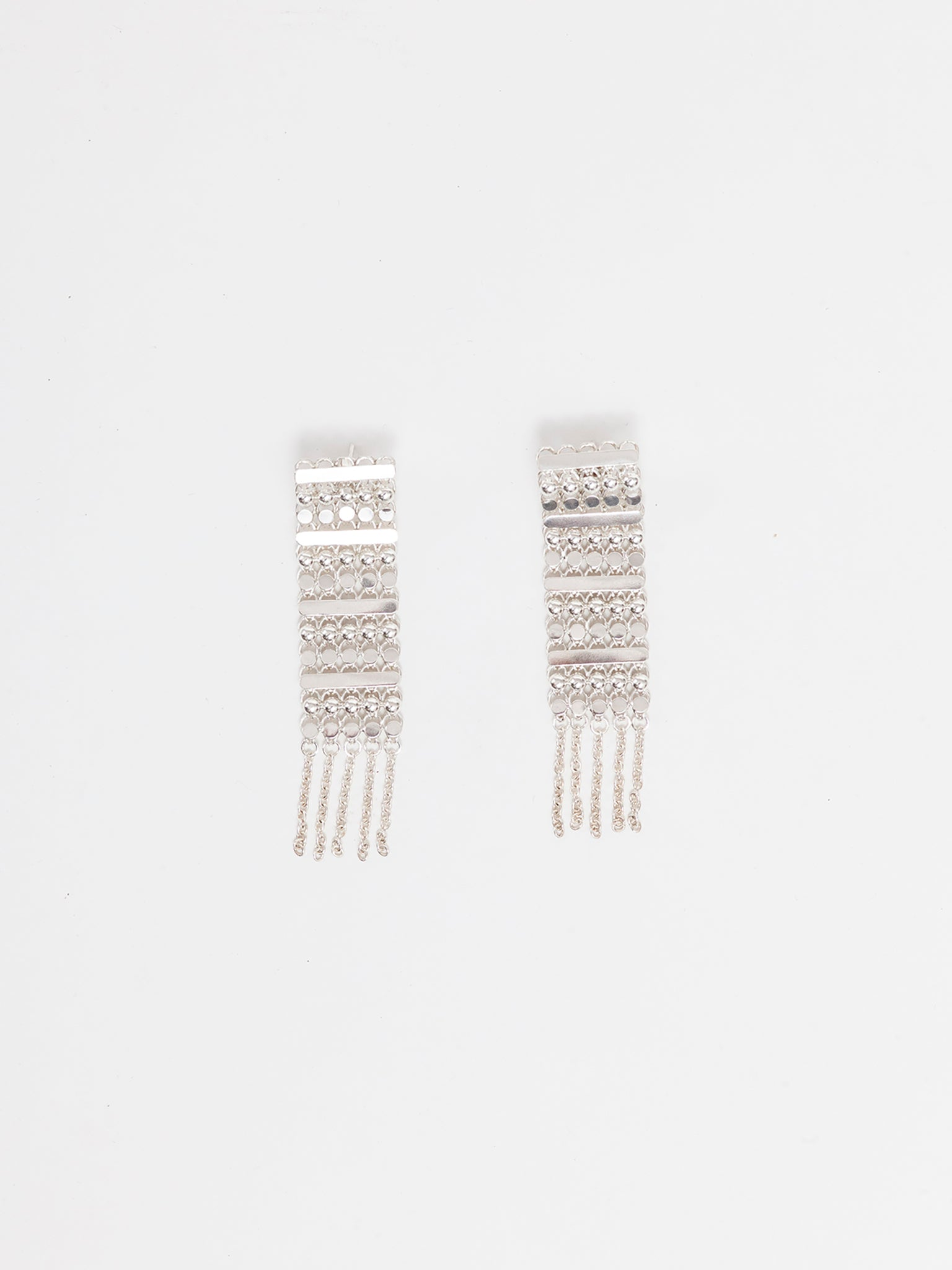 MI Earrings, 925 silver