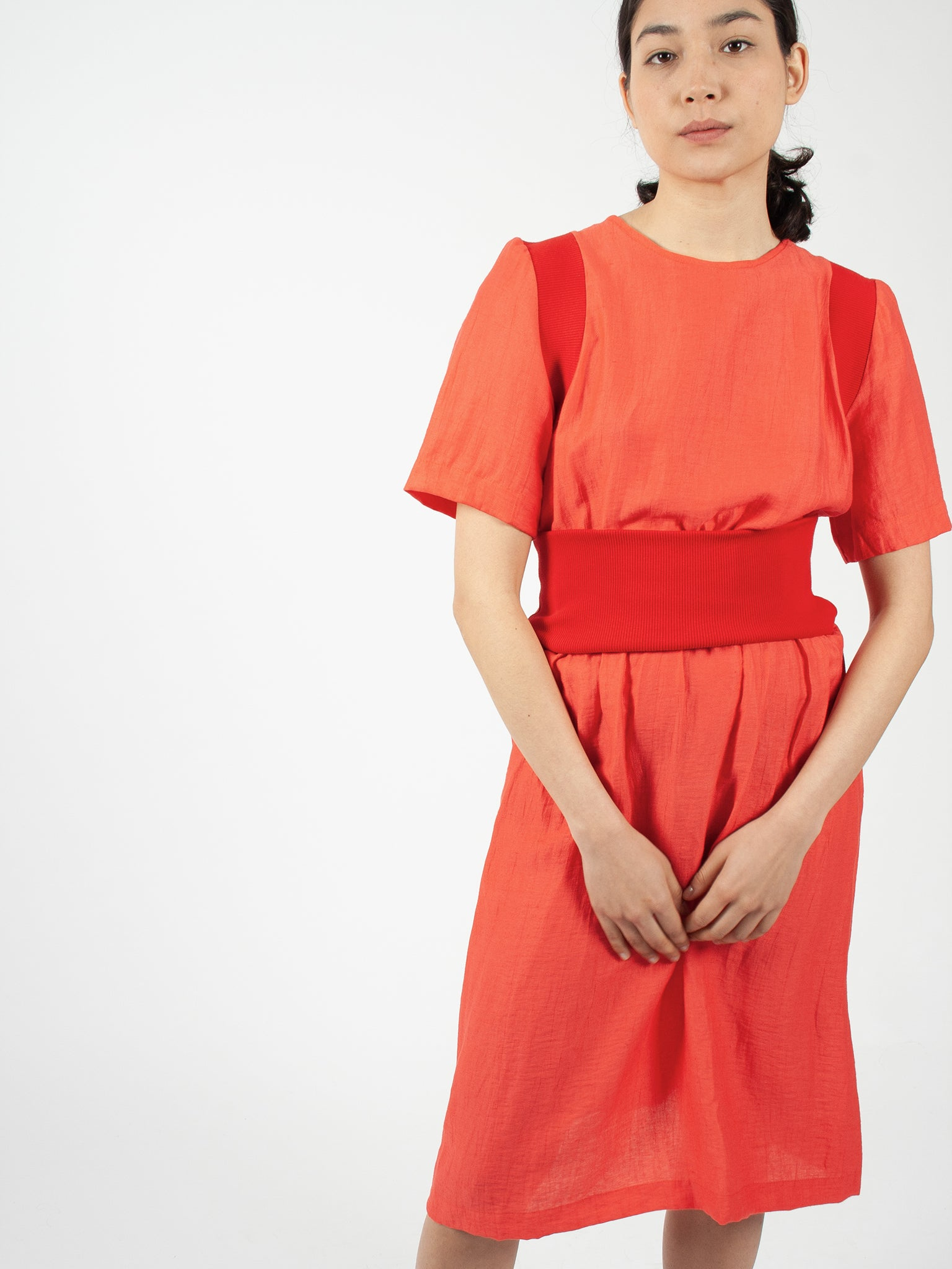 Milli dress, hibiscus