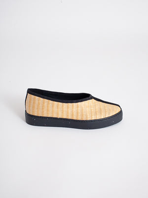 Ming slip-ons, Natural VEGAN