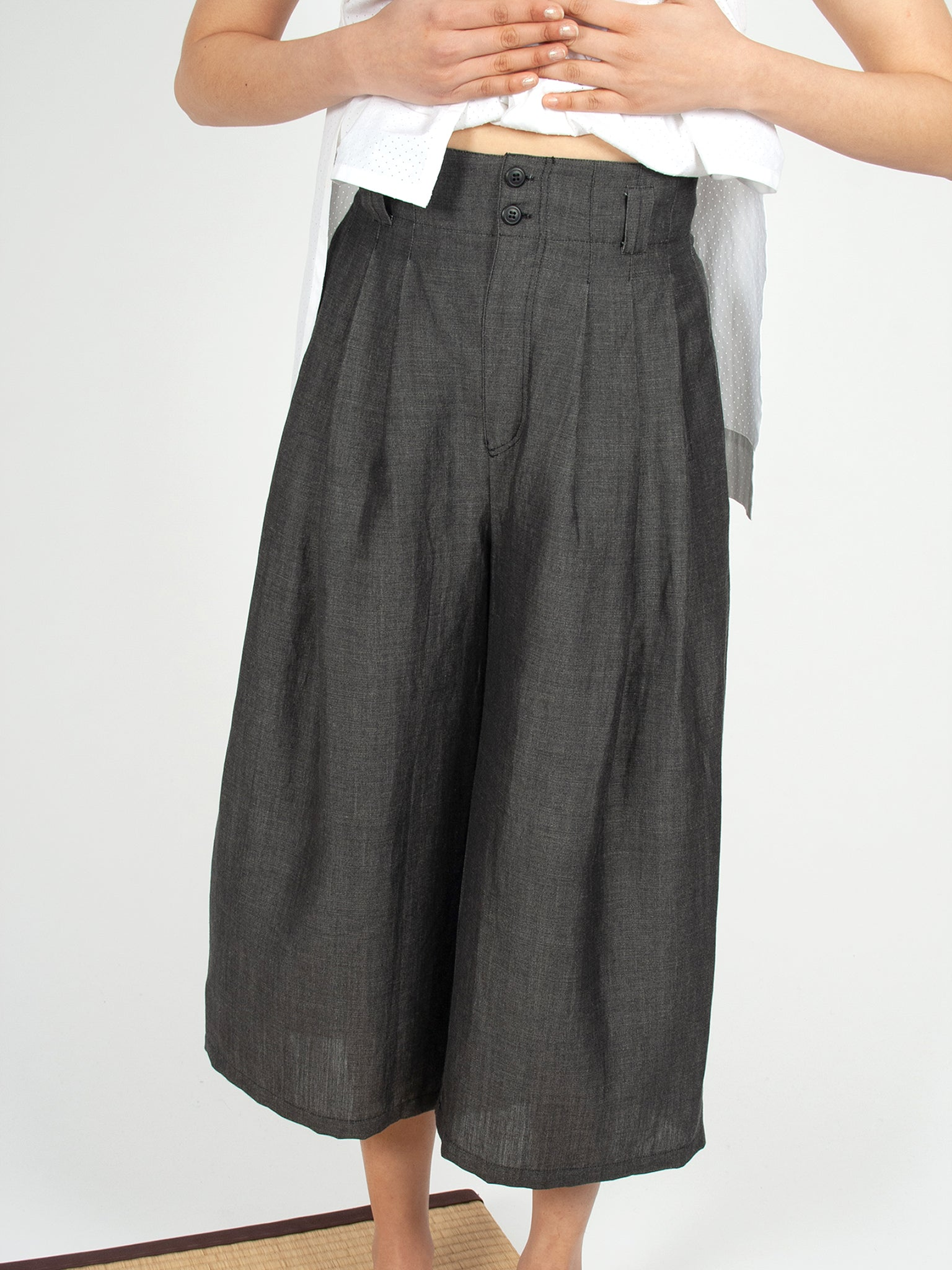 Reality Studio Mira trousers black denim