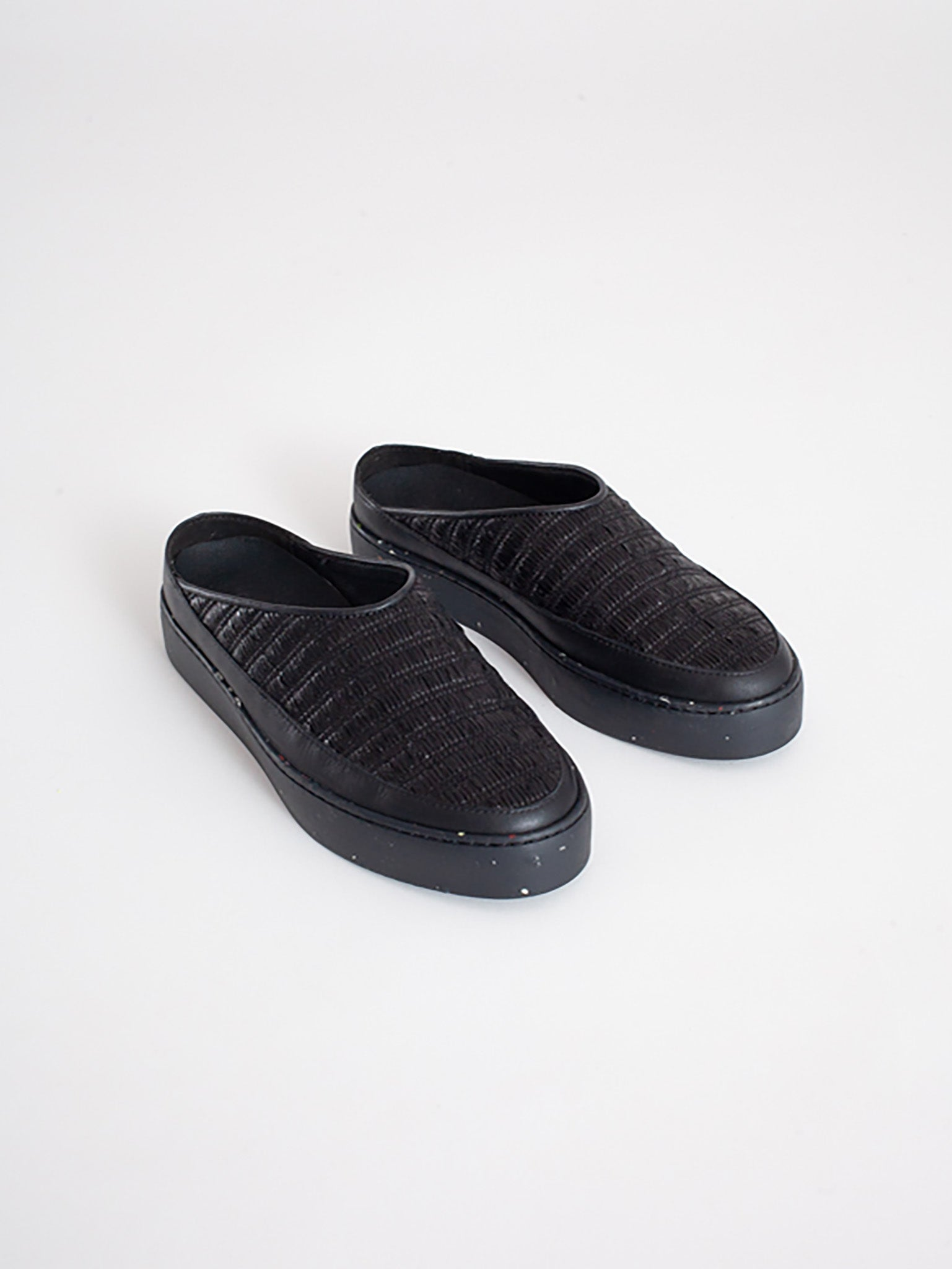 Reality Studio Now mules Black