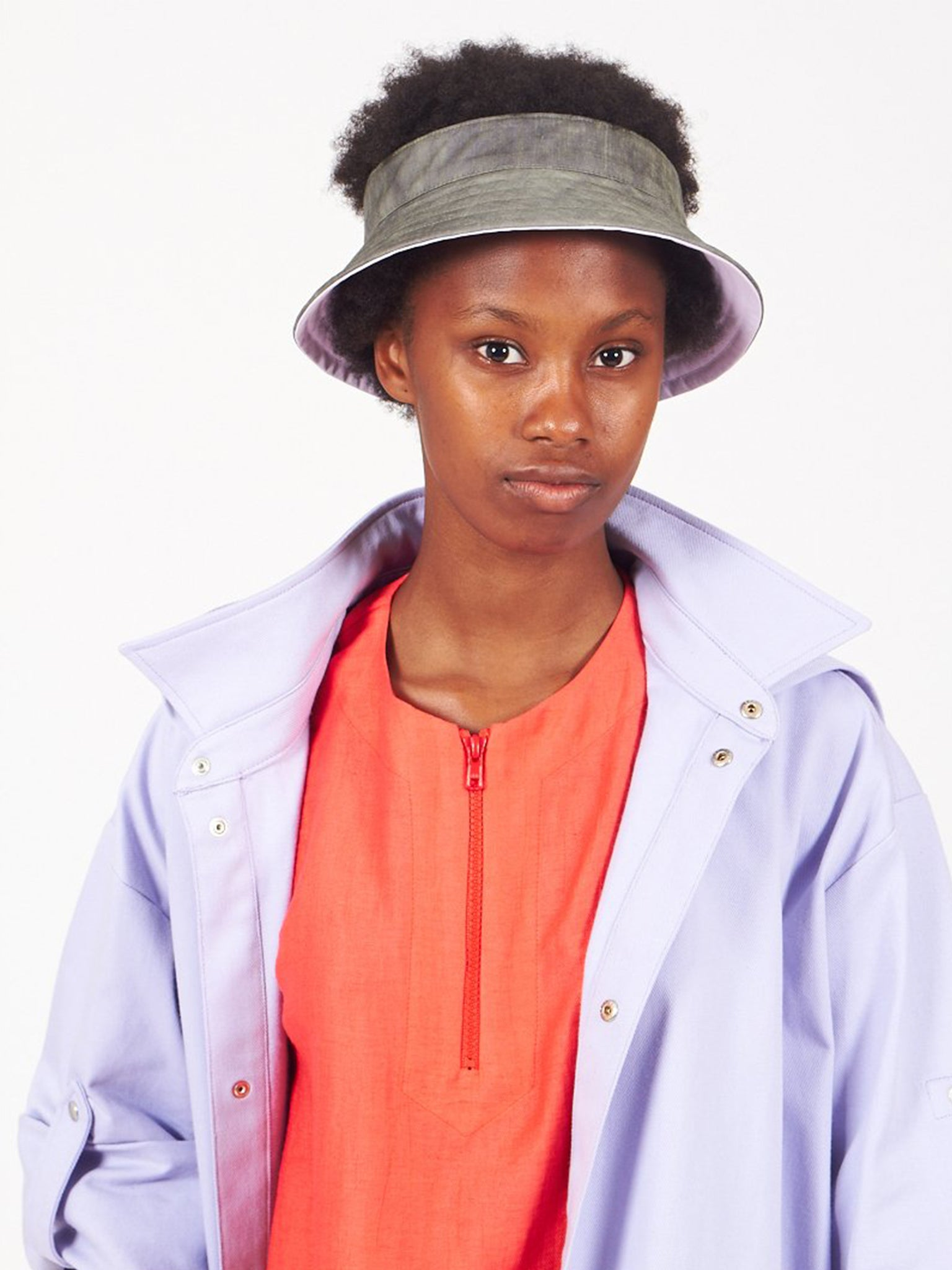 Reality Studio Rooney hat Khaki Lilac