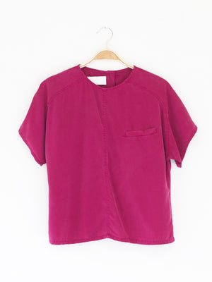 Reality Studio Sab Blouse Fog Raspberry