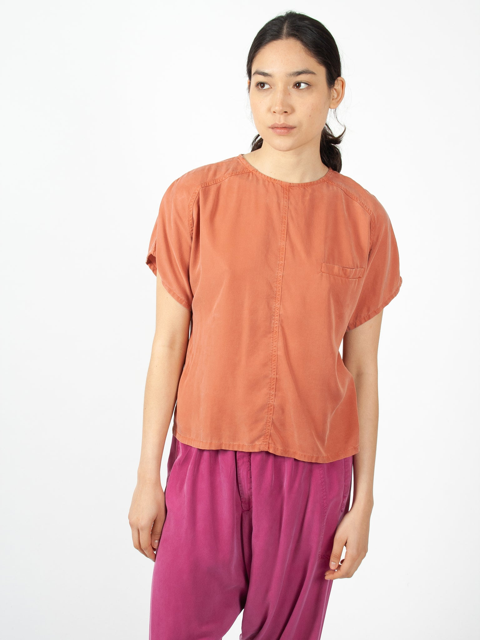 Reality Studio Sab blouse redwood