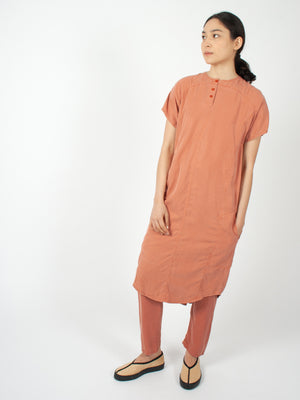Sab Dress, redwood