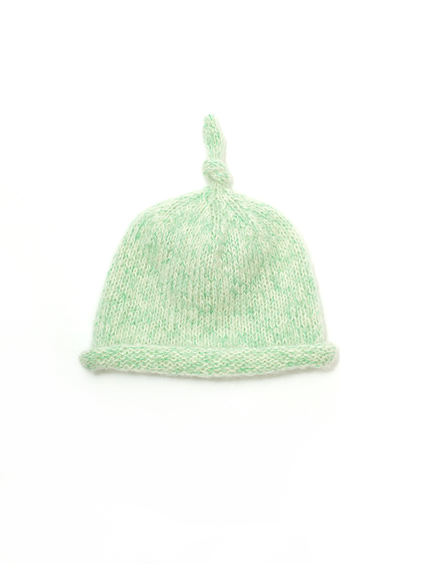 Reality Studio Shan Shan beanie off-white green