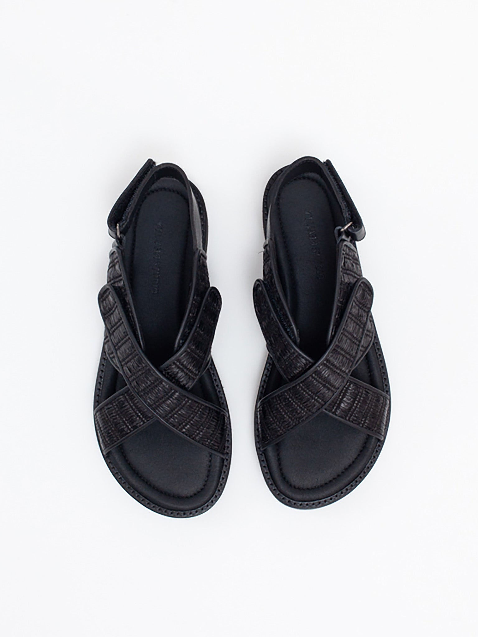 Reality Studio There Sandals Black