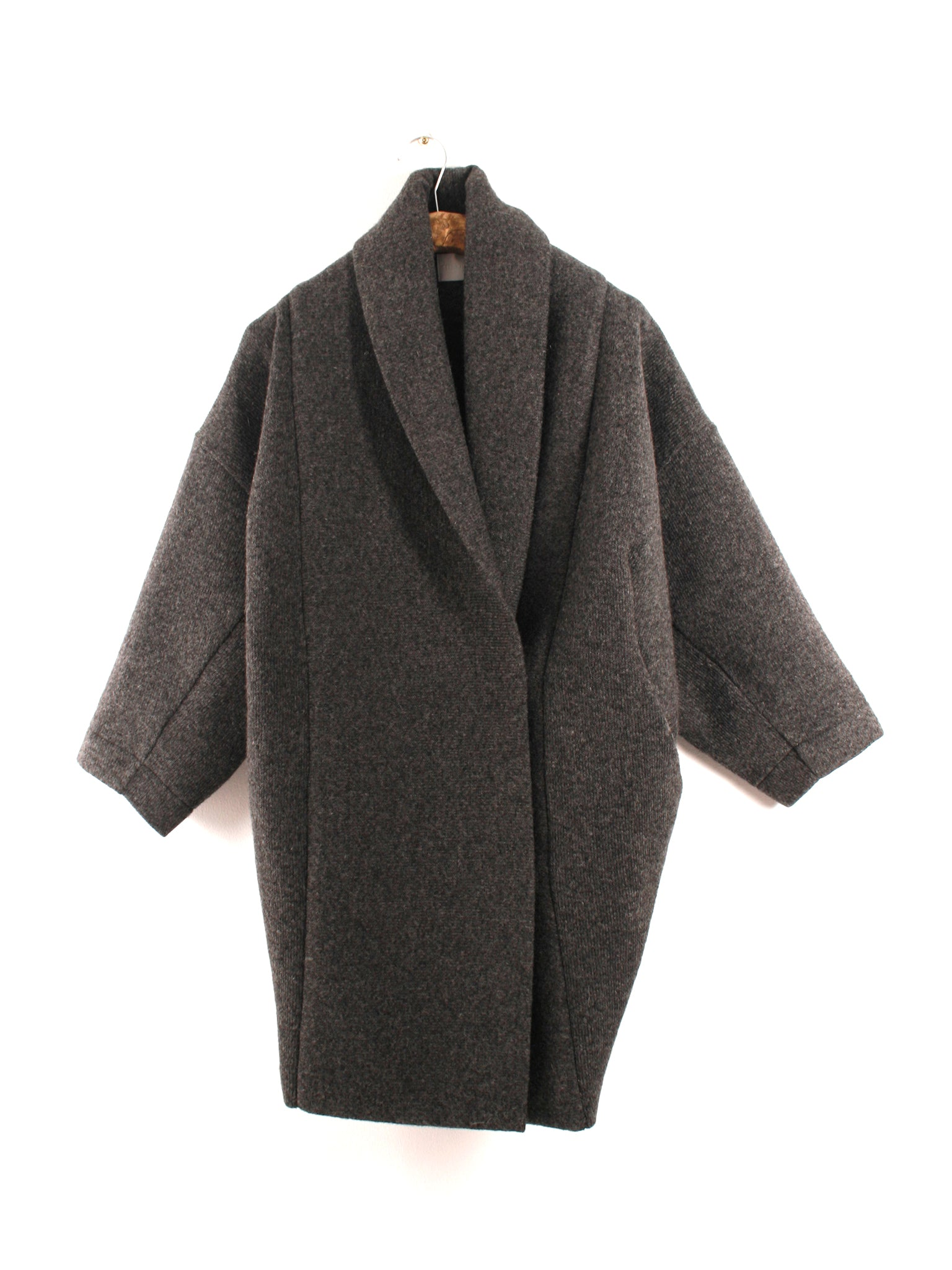Reality Studio Xiong coat Anthracite